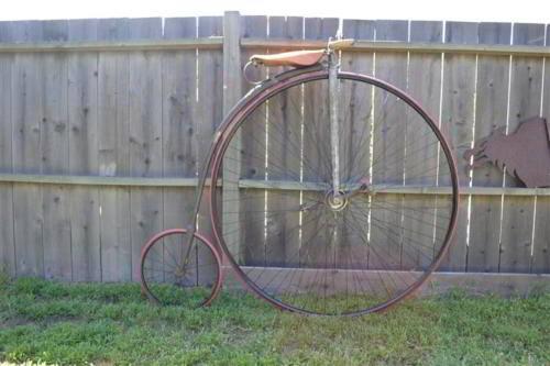 אופני הגלגל הגדול של המוזיאון תוצרת חברת זינגר