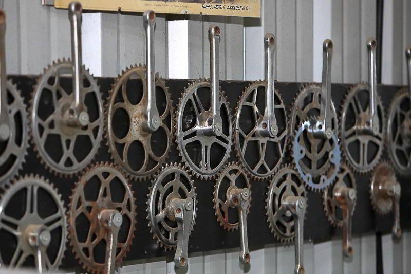 חלק מאוסף הקראנקים של המוזיאון