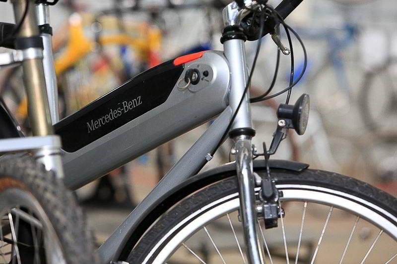 אופני מרצדס חשמליים היברידיים משנות ה 90